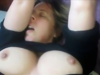 Amateur Homemade  Natural Nipples Orgasm