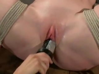 Sweet Darling has Hog bound has Toyed And Whipped