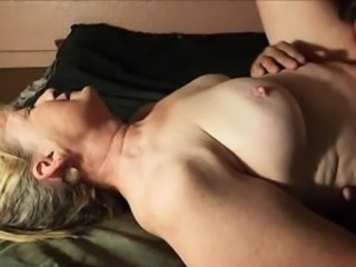 Granny Gets The brush Cunt Eaten to Orgasm