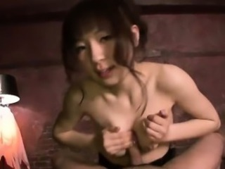 Asian Cute Japanese  Pornstar Tits job