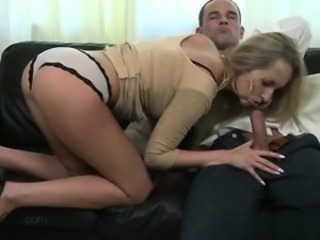 Amazing Blowjob Clothed  Panty