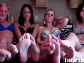 Our perfect feet will make you cum