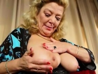 American granny Dalbin works will not hear of soaked pussy