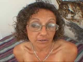 Candi rub-down the Milf gets Facial