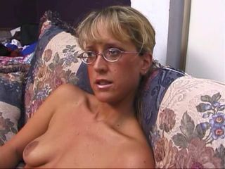 Blonde Glasses  Small Tits
