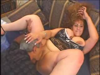 Big Tits Chubby Licking  Older Wife