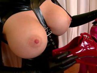 Amazing Big Tits Fetish Latex Pornstar Silicone Tits