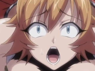 Hentai babe gets affronting and fucked by monsters tentacles