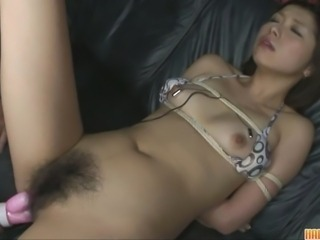 Asian Bondage Fetish Hairy  Toy