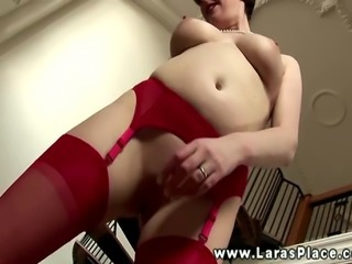 Sexy grown up lesbians finds hot babe together with wants her
