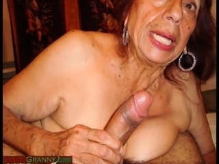 LatinaGranny Hot latina old landowners is relaxing