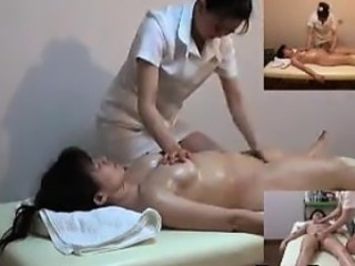 Asian HiddenCam Massage  Oiled Voyeur