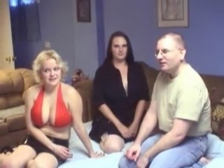 Amateur Big Tits  Threesome