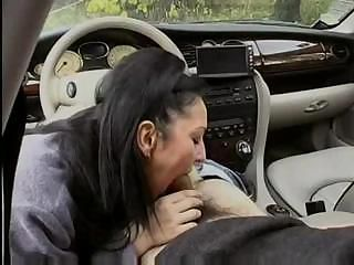 Amazing hardcore banging in high-priced car ends beside with anal diversion