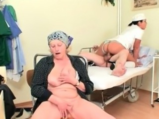Czech Nurse fucks old lawsuit near his wife