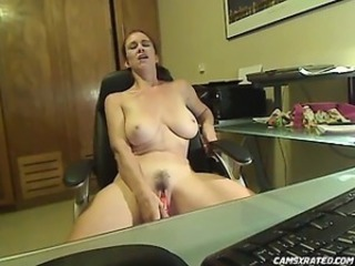 Amazing Big Tits Masturbating  Natural Webcam