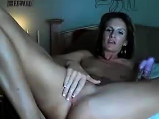Mature Woman With Small-minded Tits Masturbates
