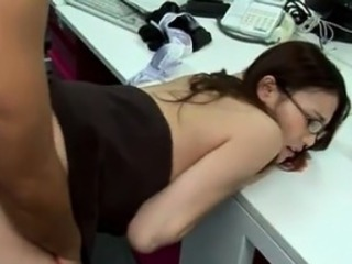 Asian Glasses  Office Secretary