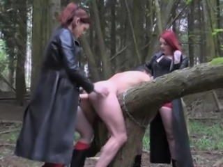 English femdoms pegging and humiliating capacity for seating play