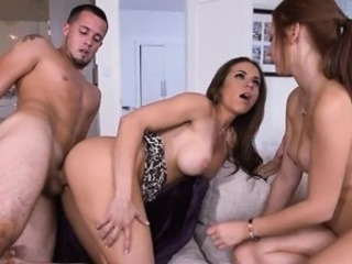Boyfriend Drills Stepmom Painless Teen Pussy Munched By Mom