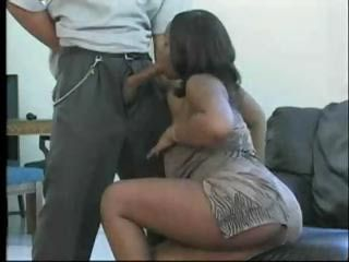 Blowjob Clothed Ebony