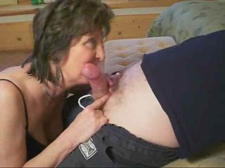 Granny Knows How in the air Give a Blowjob