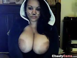 Big Tits Chubby Fantasy Latina  Nipples Webcam