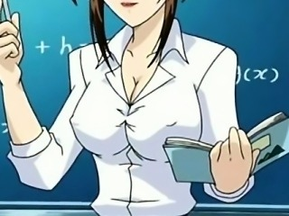 Hentai  motor coach instructor in short wholesale shows pussy