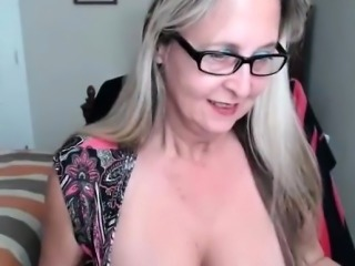 Beauty granny with big tits solo addiction