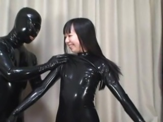 Asian Brunette Fantasy Fetish Japanese Latex