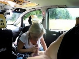 Amateur Blonde Blowjob Car Clothed European