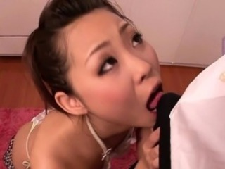 Asian Blowjob Cute Japanese  Small cock Wife