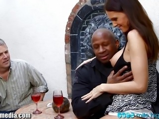 Cuckold Drunk Interracial  Wife