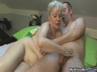 She sucks and fucks her lady in law free