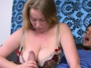 Big Tits Handjob Lingerie  Natural