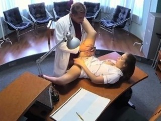 FakeHospital hot sexual intercourse roughly doctor and nurse