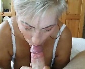 Amateur Blonde Blowjob European Mature