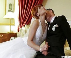 Bride Kissing  Wife