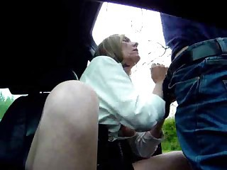 Blowjob British Cash Car European Handjob