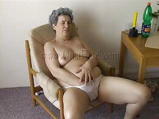 All she has is her denture with the addition of those white panties! Granny Rosa is fucking horny with the addition of she puts her hand under those drawers to rub a saggy old pussy. Our granny uses what she can to rejoinder her sex drive with the addition of this time it's a toilet pump. Beautiful granny, broach that pussy with the addition of give us a well deserved sight