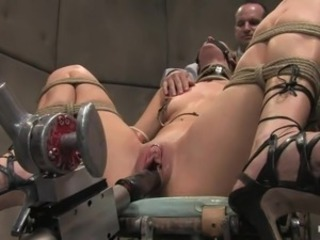 cutie likes her fucking machine
