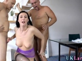 Ass fucked british milf