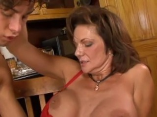 Big Tits Family Mature Old and Young Silicone Tits