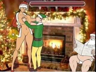 Hentai sexual relations game fucking Mrs. Santa