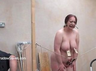 Brutal bbw bdsm plus tool tortures of fat slaveslut punished to tears