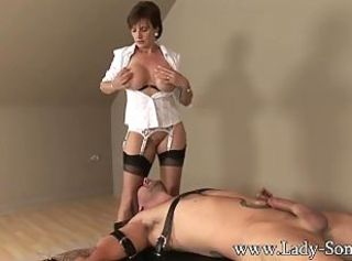 Bondage Femdom Forced Mature Stockings
