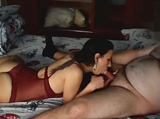 Amateur Blowjob Cute Lingerie Old and Young