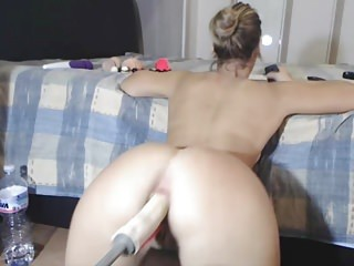 Multiple Anal Orgasms For Appliance Fucked PAWG