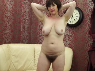 Posh MOM all over big saggy tits and hairy pussy Sex Tubes