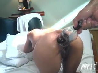 Anal fisting and XXL bottle insertions Sex Tubes
